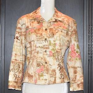 Jackets & Blazers - Cute Cotton Shirt Jacket